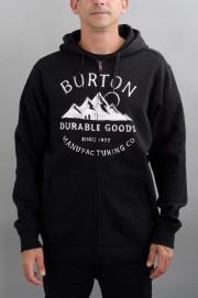 Sweat-shirt zip capuche homme Burton-Overlook-FW16/17