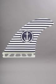 Captain fin-Stripe White/black-SS13