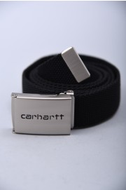 Carhartt wip-Clip Belt Chrome-FW18/19