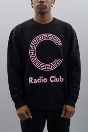 Sweat-shirt homme Carhartt wip-Radio Club Logo Sweatshirt-SPRING17