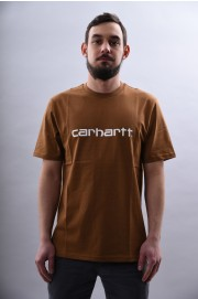 Tee-shirt manches courtes homme Carhartt wip-S/s Script T-shir-SPRING18