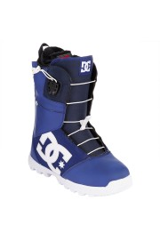 Boots de snowboard homme Dc shoes-Avaris Blue-FW14/15