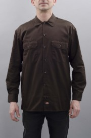 Chemise manches longues homme Dickies-Long Sleeve Work Shirt-SPRING17