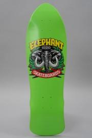 Plateau de skateboard Elephant skateboard-Mini Axe Green 8.3x28-2017