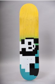 Plateau de skateboard Enjoi-8 Bit Panda R7 Blue Yellow 8.0 X 31.6-2018