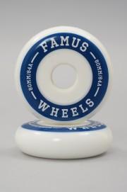 Famus-Wheel Bleu 80mm-84a Vendu Par 4-2018