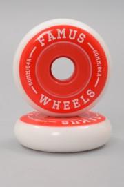 Famus-Wheel Rouge 80mm-84a Vendu Par 4-2018
