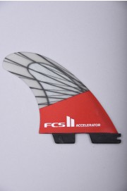 Fcs-2 Accelerator Pc Carbon  Red Mood Lrg Tri Retail Fins-2018