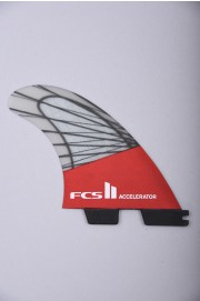 Fcs-2 Accelerator Pc Carbon  Red Mood Med Tri Retail Fins-2018