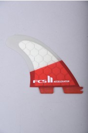 Fcs-2 Accelerator Pc Red Mood Medium Tri Retail Fins-2018