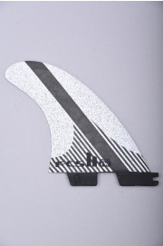 Fcs-2 Fw Pc Carbon White  Medium Tri Quad Retail Fins-2018