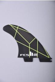 Fcs-2 Ka Pc Grey/yellow Medium Tri Retail Fins-2018