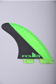 Fcs-2 Mf Pc Green/black  Large Tri Retail Fins-2018