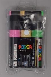 Fcs-Posca Pack 3 Marqueurs 8.0mm-INTP