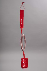 Fcs-Regular Leash 7mm Red-SS14