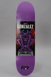 Plateau de skateboard Flip-Gargoyle 8.0x31.5 David  Gonzalez-2017