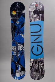 Planche de snowboard homme Gnu-Carbon Credit Blue-FW16/17