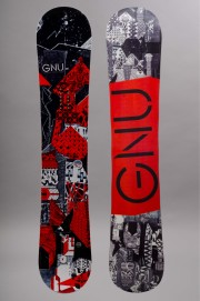 Planche de snowboard homme Gnu-Carbon Credit Red-FW16/17