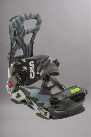 Fixation de snowboard homme Gnu-Psych-FW15/16