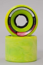 Hawgs-Chubby 60mm-78a Green Yellow Swirl-2017CSV