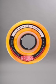 Hawgs-Fattie 63mm-78a Orange Yellow Swirl-2017CSV