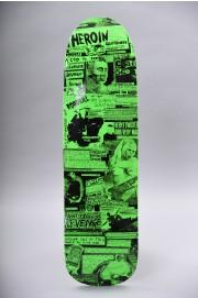Plateau de skateboard Heroin-Cq Zine Deck 9.0-2018