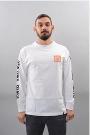 Tee-shirt manches longues homme Huf-International Block-HO17/18