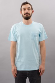 Tee-shirt manches courtes homme Huf-Label Pocket-FW17/18