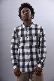Chemise manches longues homme Huf-Plantlife Plaid Shirt-SPRING18