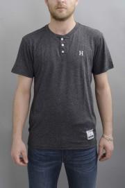 Tee-shirt manches courtes homme Huf-Premium Heather Henley-FW16/17