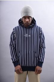Sweat-shirt à capuche homme Huf-Sutter Stripe-SPRING18
