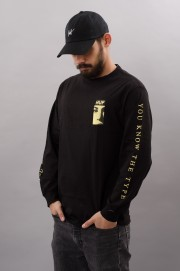 Tee-shirt manches longues homme Huf-The Type-FW17/18
