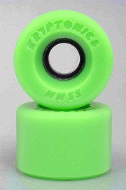 Kryptonics-Star Trac Green 55mm-86a-2016