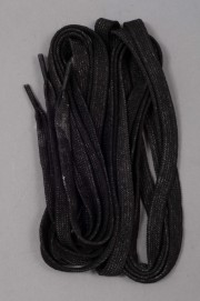 Luigino-Lacets Wax Black La Paire-INTP