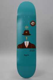 Plateau de skateboard Magenta-Jimmy Magritte-2017