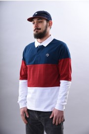 Polo manches longues homme Magenta-Tricolor-SPRING18