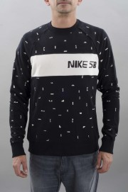 Sweat-shirt homme Nike sb-Nibe Sb X Ch Everett Crew-FW16/17
