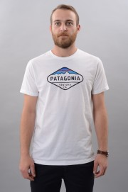 Tee-shirt manches courtes homme Patagonia-Fitz Roy Crest-FW17/18