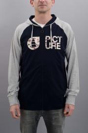 Sweat-shirt zip capuche homme Picture-Moorea-SPRING17