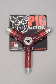 Pig-Tool Clear Red-INTP