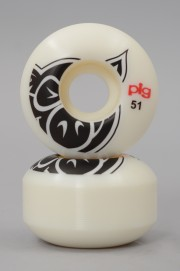 Pig-Wheels Head Natural 51mm-2017