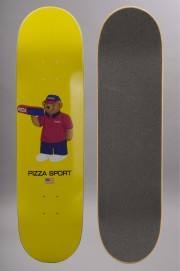 Plateau de skateboard Pizza skateboard-Pizza Bear-2016