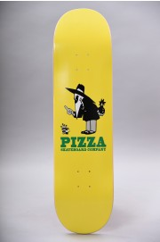 Plateau de skateboard Pizza skateboard-Pizza Deck Western Spy Yellow 8.375-2018