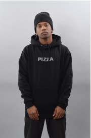 Sweat-shirt à capuche homme Pizza skateboard-Pizza Hood Logo-SPRING18