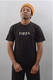 Tee-shirt manches courtes homme Pizza skateboard-Pizza Stained Glass-SPRING18