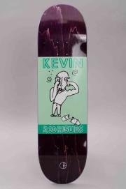 Plateau de skateboard Polar skate co-Polar Kevin Rodrigues Punch Out Green-2017