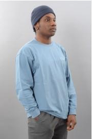 Tee-shirt manches longues homme Polar skate co-Polar Script Logo Captains-SPRING18