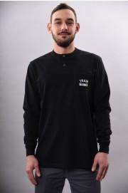Tee-shirt manches longues homme Polar skate co-Polar Train Banks Henley-FW17/18
