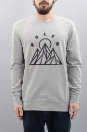 Sweat-shirt homme Poler-Mountains-SPRING17