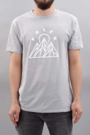 Tee-shirt manches courtes homme Poler-Mountains Tee-SPRING17